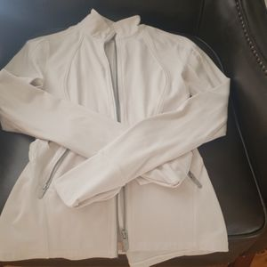 Lululemon jacket white size 4